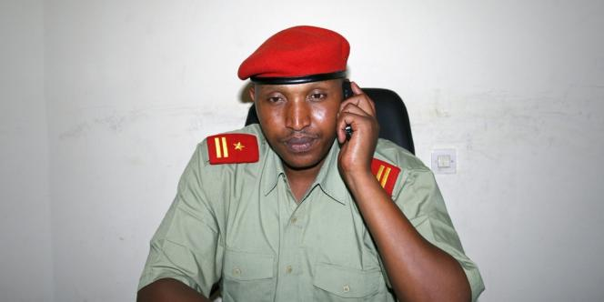 Le chef de guerre congolais Bosco Ntaganda à Goma, le 4 avril 2009.