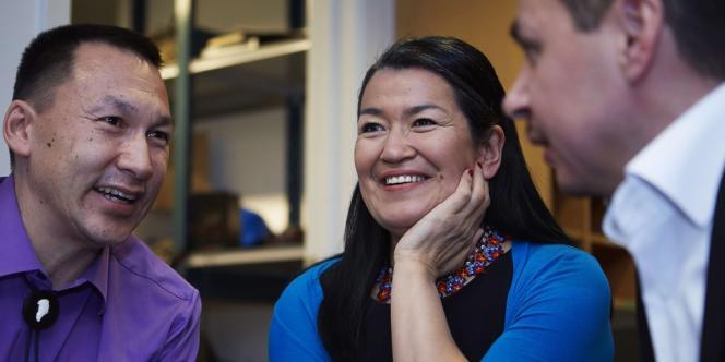 Aleqa Hammond est la première femme à diriger le gouvernement du Groenland, un territoire autonome du Danemark.