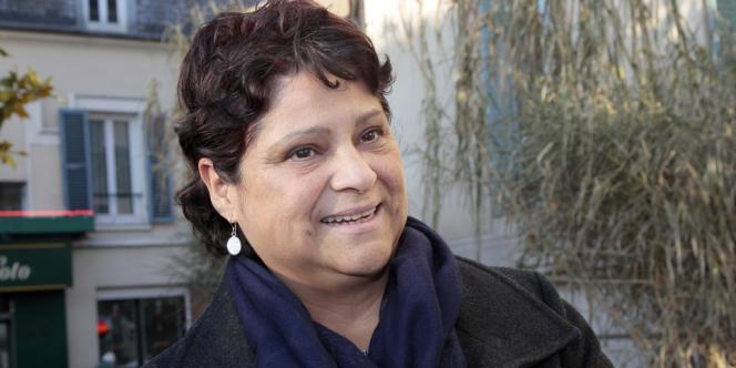 La directrice de la crèche Baby Loup à Chanteloup-les-Vignes Natalia Baleato, le 13 décembre 2010 à Mantes-la-Jolie au conseil des prud'hommes, après la validation du licenciement pour