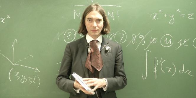 Cédric Villani, mathématicien, médaille Fields 2010, directeur de l'institut Henri Poincaré