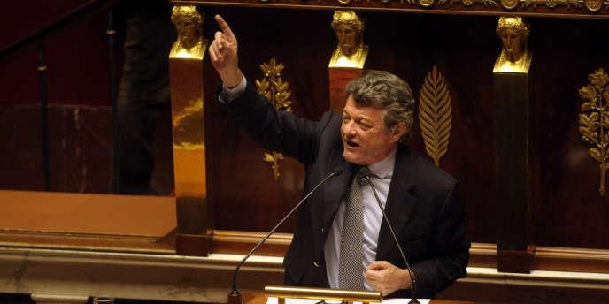 Jean-Louis Borloo, président de l'UDI, à l'Assemblée nationale, le 20 mars 2013