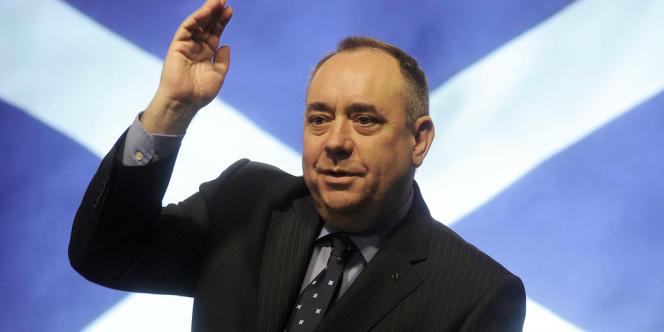 Le premier ministre écossais, Alex Salmond, le 15 octobre 2012.