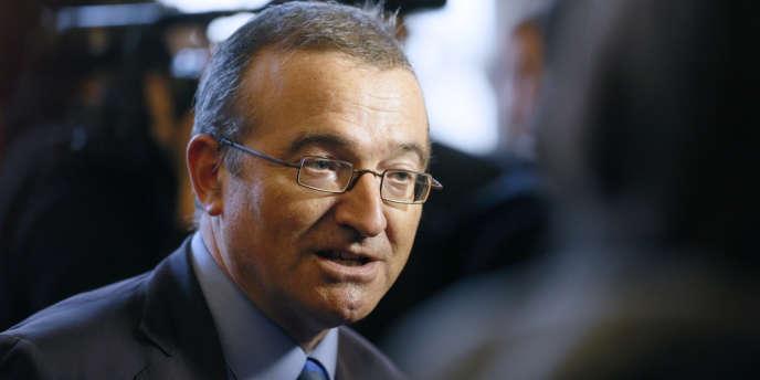 Le député UMP, Hervé Mariton, le 26 janvier 2013, à l'Assemblée nationale.