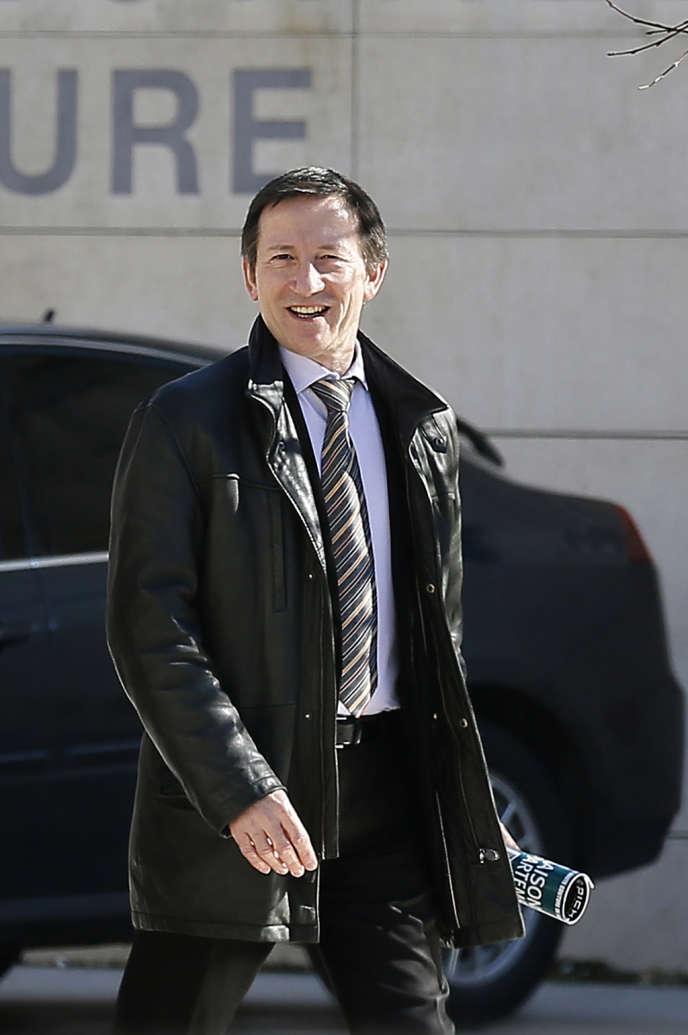 Le juge Jean-Michel Gentil, en février 2013.