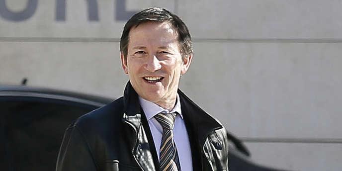 Le juge d'instruction Jean-Michel Gentil, le 19 février.