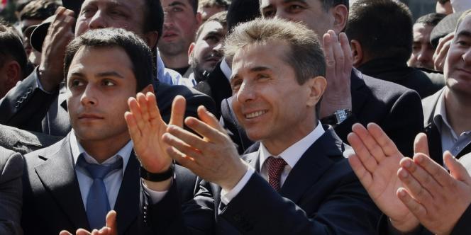 Le premier ministre Bidzina Ivanichvili, le 21 mars à Tbilissi.