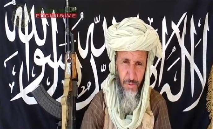 Capture d'écran d'une vidéo du 25 décembre 2012 montrant Abou Zeid.