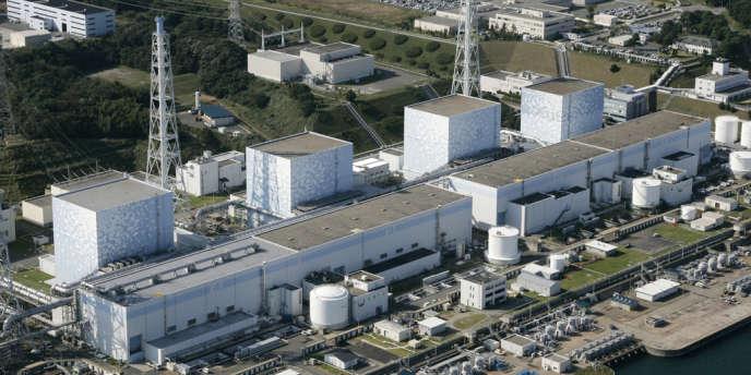 Vue aérienne de la centrale nucléaire de Fukushima en 2008.