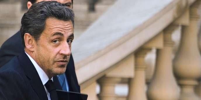Nicolas Sarkozy, le 25 mars 2013.