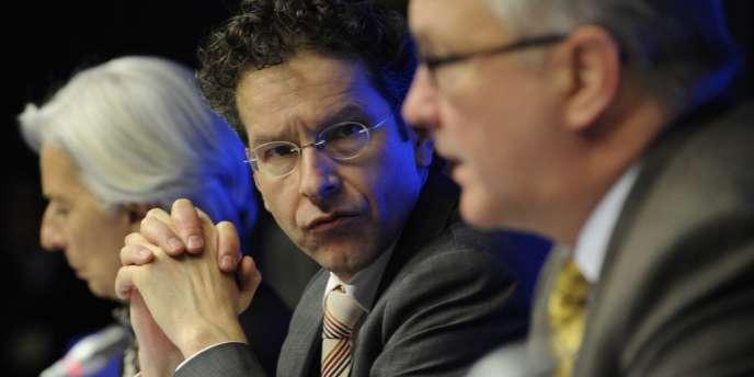 Le président de l'Eurogroupe, Jeroen Dijsselbloem, prône