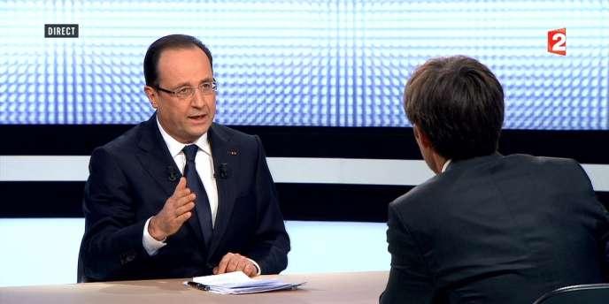 Le chef de l'Etat a consulté à tour de bras en vue de son intervention, jeudi sur France 2.