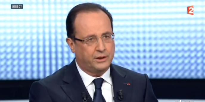 Hollande sur France 2