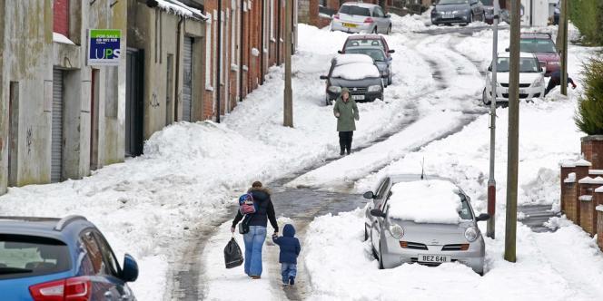Au nord de Belfast, le 25 mars.