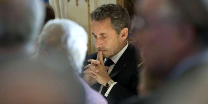 Nicolas Sarkozy, à Bruxelles, le 27 mars.