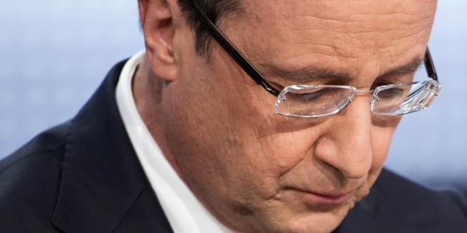 Deux tiers des Français n'ont pas été convaincus par la prestation télévisée de François Hollande, le 28 mars.