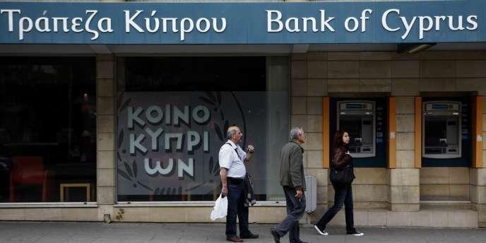 Les gros dépôts de la Bank of Cyprus pourraient être plus ponctionnés qui ce qui avait été prévu par le plan de sauvetage initial.