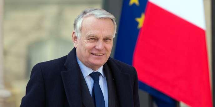 Jean-Marc Ayrault, le 27 mars à l'Elysée.