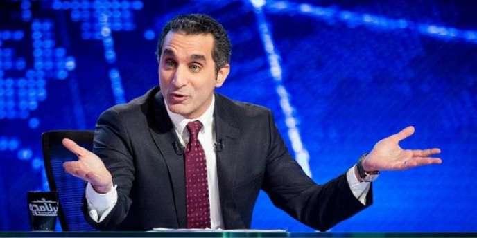 L'animateur de télévision égyptien Bassem Youssef.