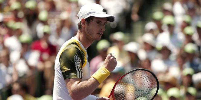 Andy Murray, dimanche, pendant la finale du tournoi de Key Biscayne face à David Ferrer.