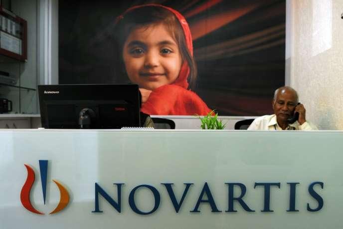 Le siège de Novartis à Mumbai, le 1er avril.