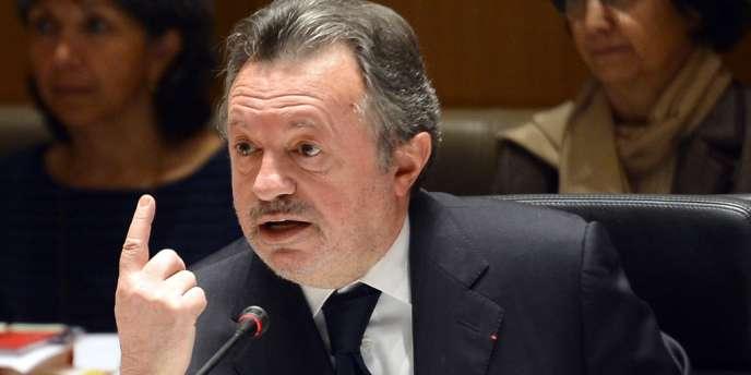 Jean-Noël Guérini, le 29 mars 2013 à Marseille.