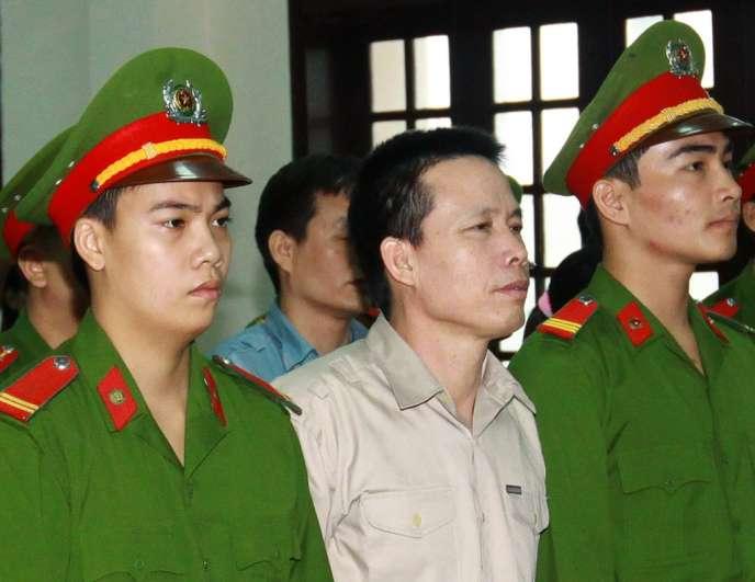 Doan Van Vuon avait blessé six policiers lors d'une expropriation forcée en janvier 2012.