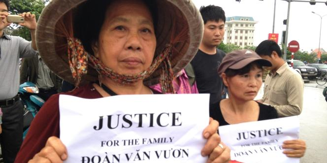 Les expropriations de terres sont sources de tensions depuis des décennies au Vietnam.