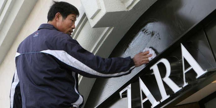 Sur ses 482 ouvertures de boutiques Zara en 2012, 121 se sont faites en Chine.