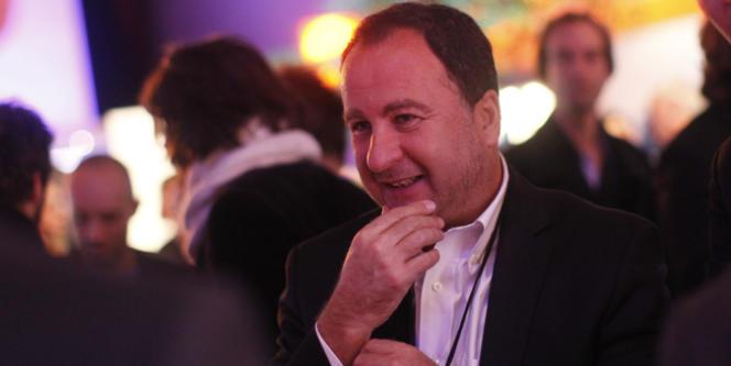 Stéphane Fouks, patron d'Havas Worldwide et spécialiste de la communication de crise, le 21 décembre 2012.
