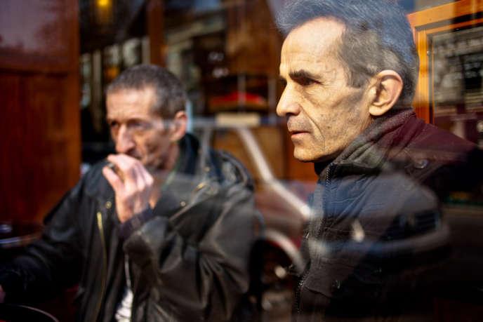 Didier Janus (à gauche) et Patrice Balzac, le 27 mars à Paris.