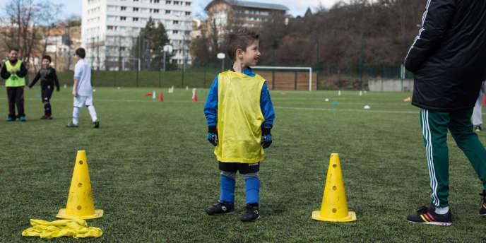 Journée de lutte contre les discriminations, organisée par le club de football du FCO Firminy Insersport.