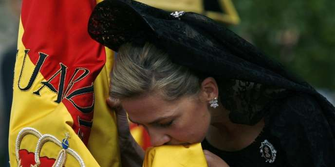 L'infante Cristina à Séville, en octobre 2008.
