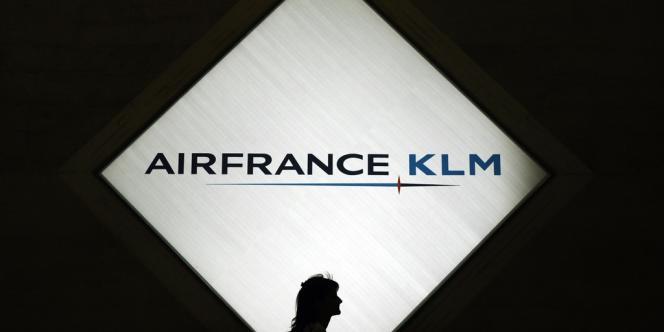 Le groupe français Air France-KLM..