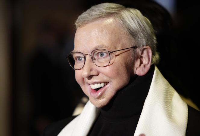 Le critique de cinéma Roger Ebert à Los Angeles en janvier 2009.