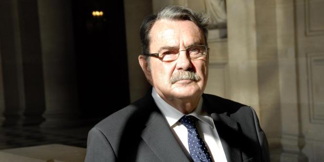 Jean-Pierre Michel, sénateur de la Haute-Saône et vice-président de la commission des lois.