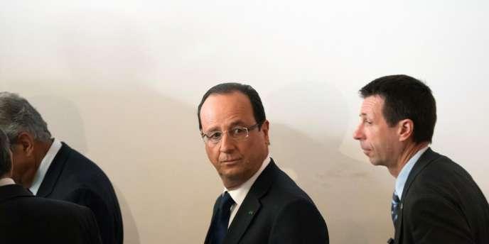 François Hollande à Rabat au Maroc, le 4 avril.