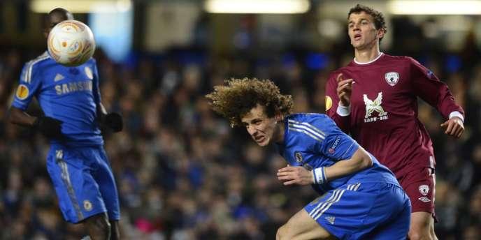 Le Londonien David Luiz, ancien de Benfica, le 4 avril à Stamford Bridge.
