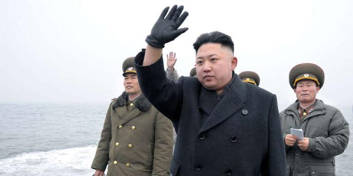 Le leader nord-coréen Kim Jong-un, le 7 mars.