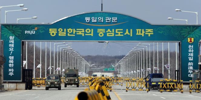 Le complexe industriel de Kaesong.