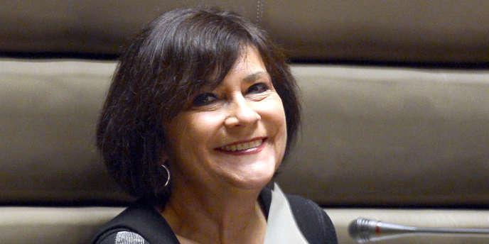Marie-Arlette Carlotti, le 29 mars à Marseille.