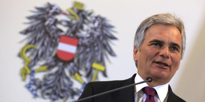 Le chancelier social-démocrate autrichien, Werner Faymann, refuse de céder à la pression européenne sur le secret bancaire autrichien.