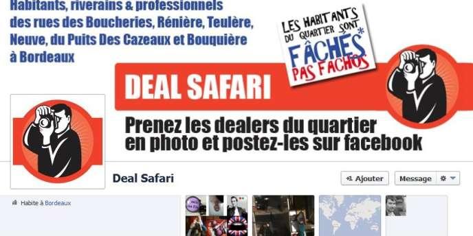 L'opération Safari photos sur Facebook invite les habitants du quartier Saint-Paul de Bordeaux à publier les photos des dealers du quartier.