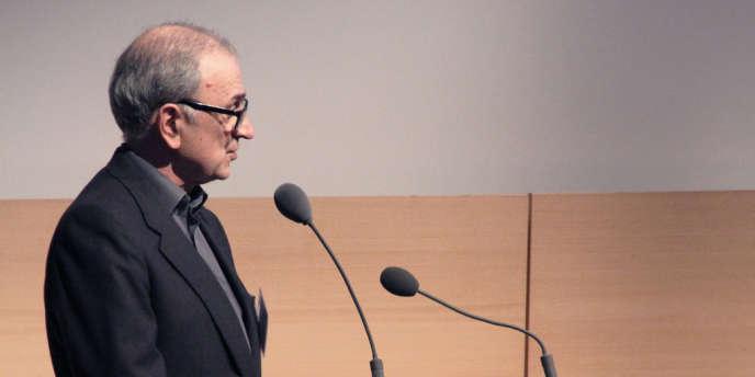 Le président du Conseil national du sida, Patrick Yéni.