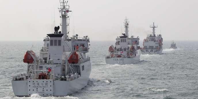 La Chine envoie régulièrement des navires, mais aussi ponctuellement des avions, autour de cet archipel inhabité.