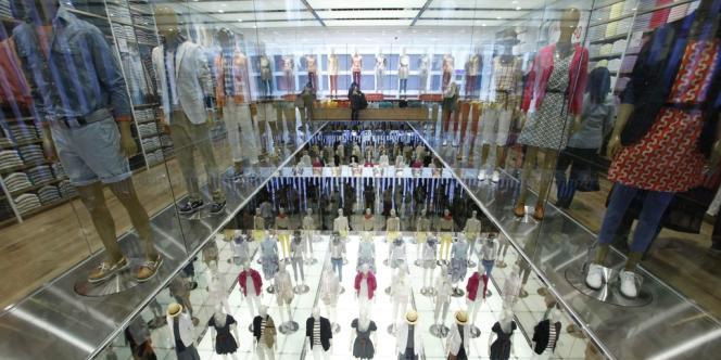 L'actuel plus grand magasin du label Uniqlo est à Tokyo.