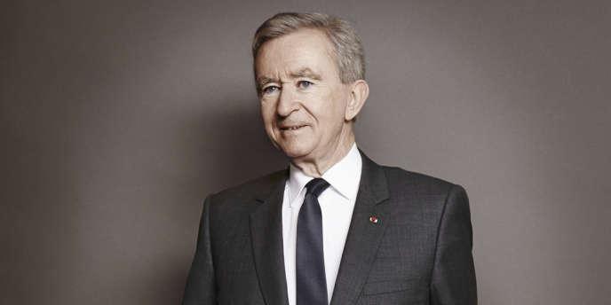 Le Français Bernard Arnault, propriétaire du groupe de luxe LVMH, est treizième du classement «Forbes», avec 37,2milliards de dollars.