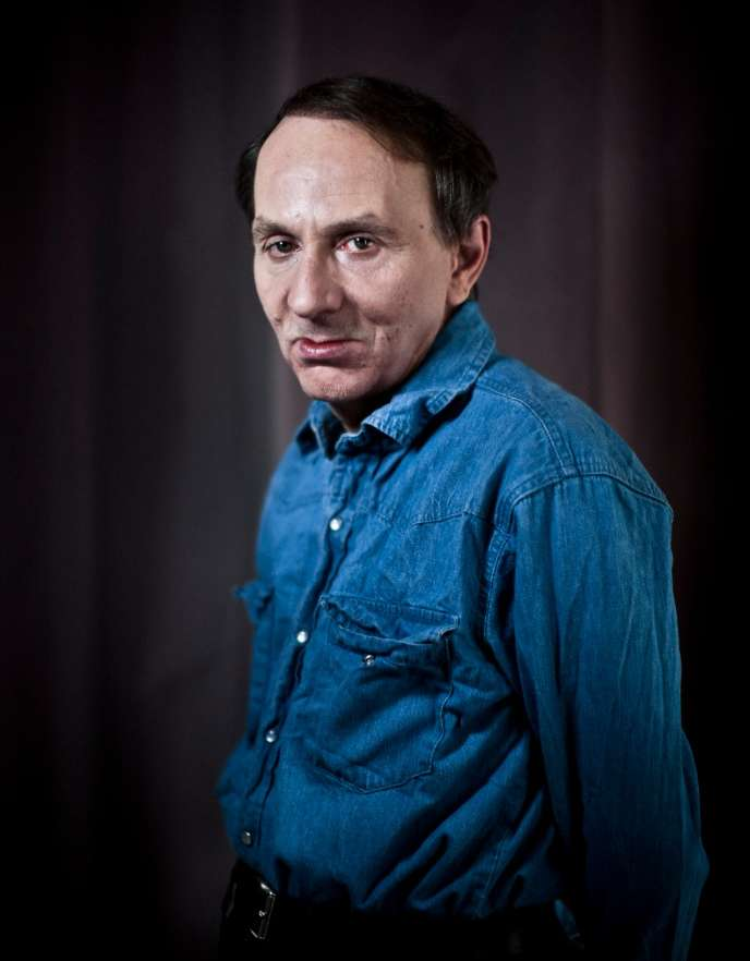 Michel Houellebecq, avril 2013.