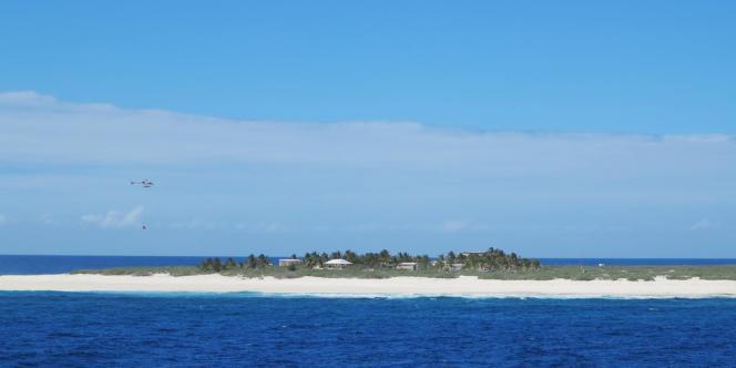 L'île Tromelin, le 24 août 2012.