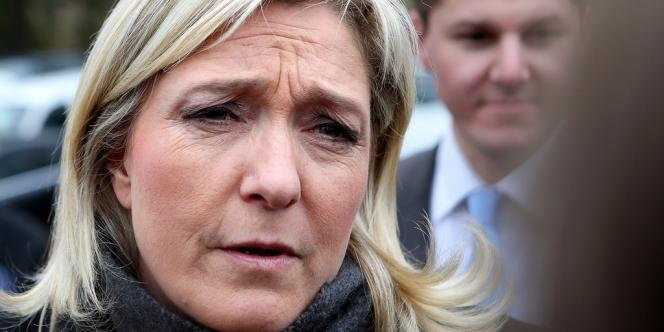 Marine Le Pen justifie l'ouverture de ce compte suisse par