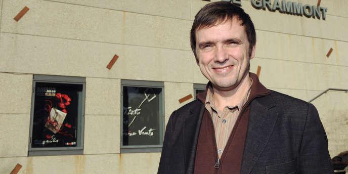 Jean-Marie Besset à Montpellier en décembre 2009.